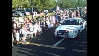 Sky Mote: Community Honors a Fallen Soldier from El Dorado County with Hero