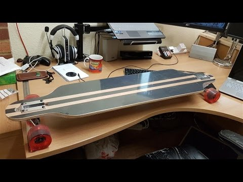 DIY Electric Longboard - Chain Drive