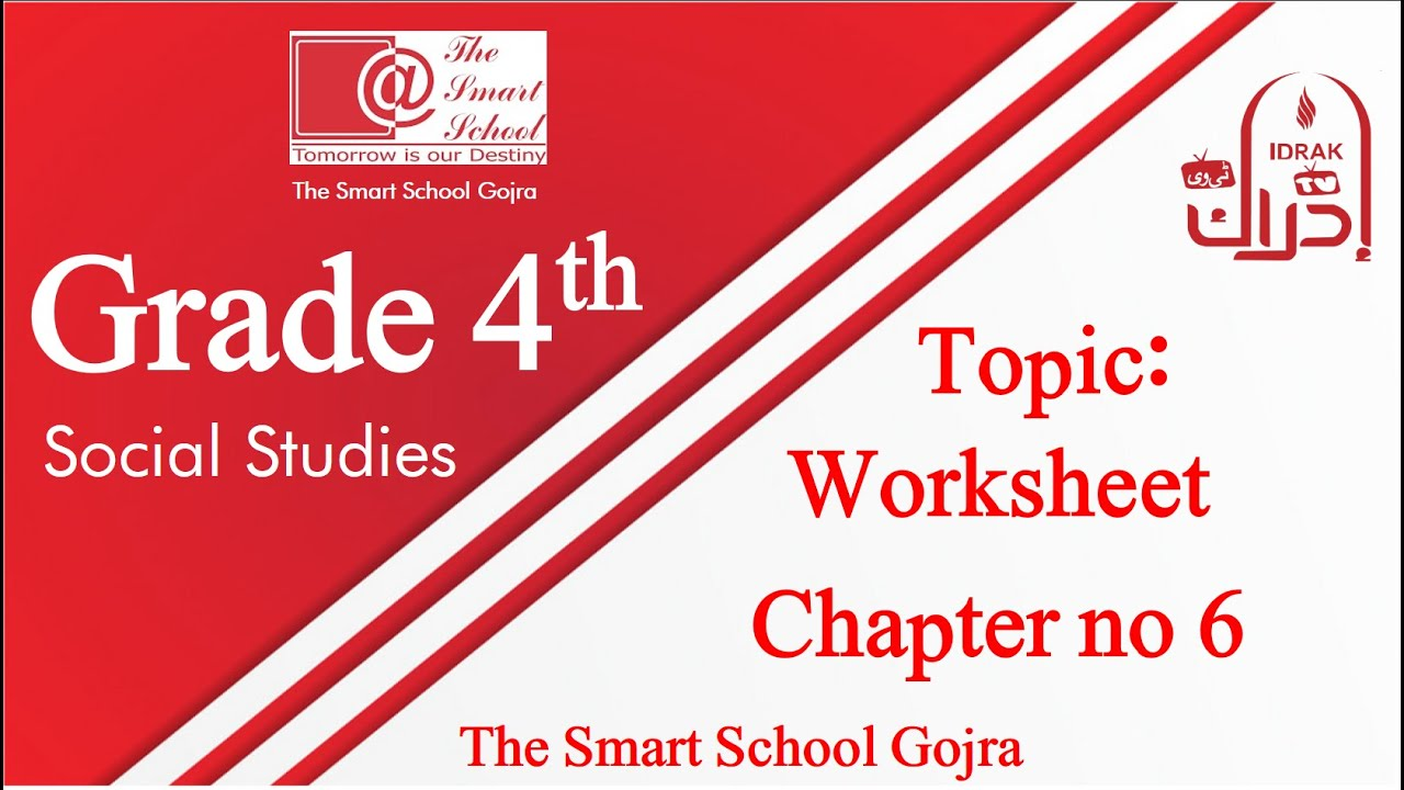 small resolution of Grade 4th SST Chapter no 6 Complete Worksheet. - YouTube