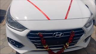 2018 Hyundai Verna EX Variant Polar White Color Interior and Exterior Walkaround!!