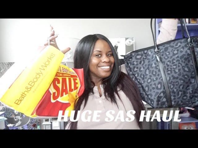 HUGE Bath & Body Works Winter 2018 SAS HAUL