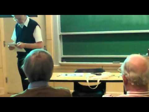 "Frans Oort on ""John Tate receives the 2010 Abel Prize"""