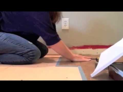 Installing Allure Flooring   Easiest DIY Flooring EVER