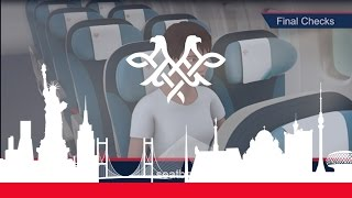 Air Serbia A330 Safety Video   #BEGtoJFK