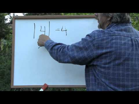Algebra: Absolute Value & Exponents
