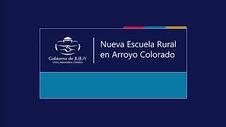 EN VIVO | Nueva Escuela Rural en Arroyo Colorado