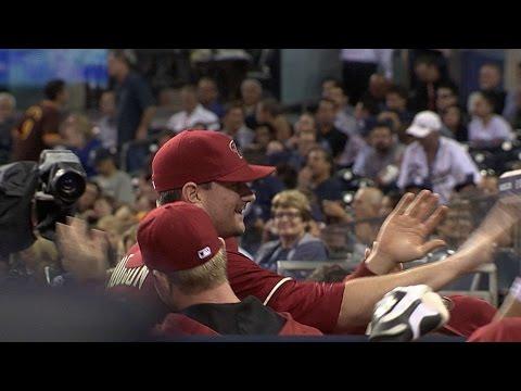 ARI@SD: Hudson throws perfect inning in return