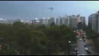 UFO With Strange Sound In The Clouds During Heavy Rain Day - FindingUFO