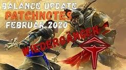 Guild Wars 2 News: 'Balance Update' Februar 2020 Patchnotes | Wiedergänger