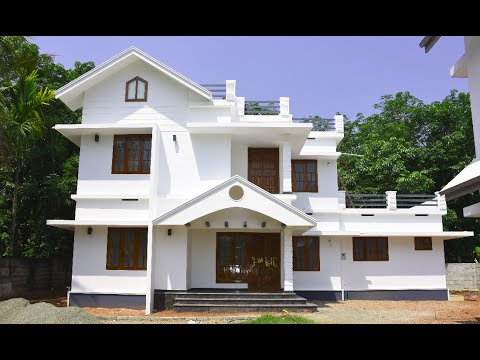 Aluva, 5.5 cents plot and 1475 sq ft, medium budget house for sale in Aluva, Kochi near CIAL