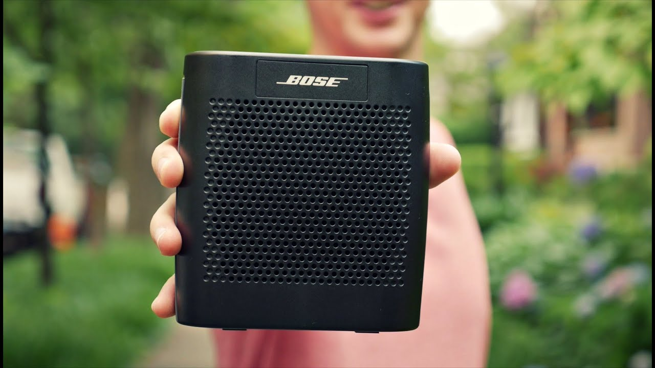 Bose Soundlink Color Review Best Portable Bluetooth Speaker Youtube