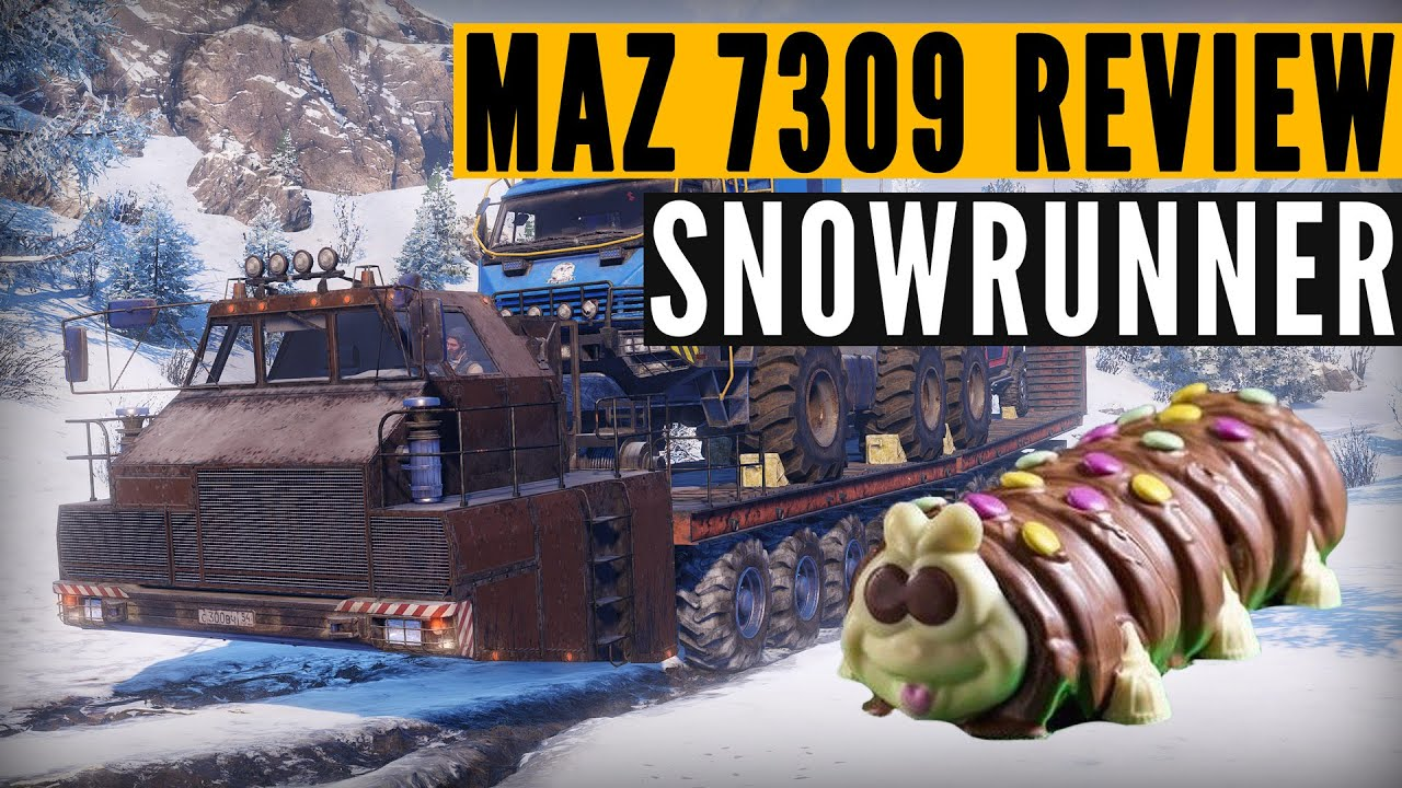 SnowRunner MAZ 7907 mod review: Colin the Caterpillar
