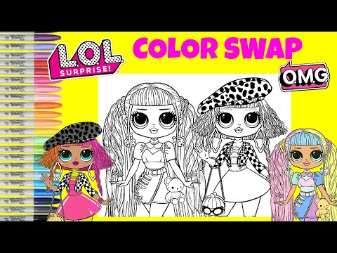 lol-surprise-o.m.g-dolls-coloring-book-color-mix-up-candylicious-&-neonlicious-lol-surprise-makeover