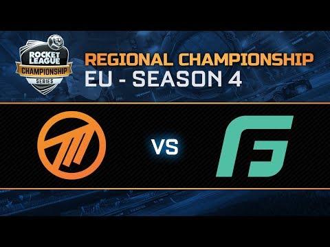 METHOD vs GALE FORCE ESPORTS EU Regional Championship Finals - RLCS S4