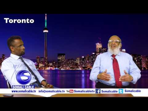 Todobaadka iyo Toronto waraysi Xildhibaan hore Cawad Axmed Casharo