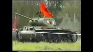 Редкое видео. Танк КВ-1С (КВ-85Г)/ KV-1S(KV-85G)(Уникальный танк. Танк КВ-1С (КВ-85Г)/ KV-1S(KV-85G) на ходу. Кубинка 2000 г. Видео Виталия PQ (