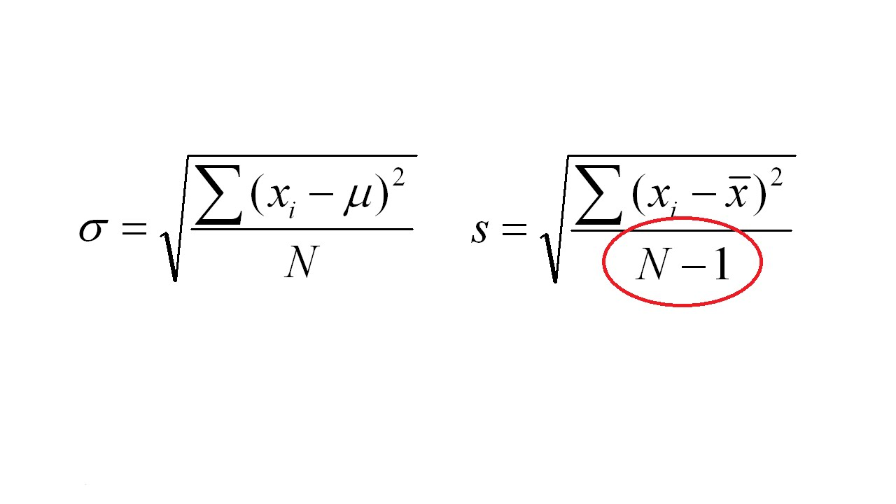 how to find standard deviation of m1+