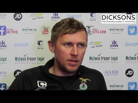 CaleyJagsTV : Richie Foran Match Preview v Aberdeen : 03/04/17