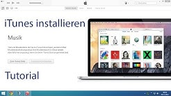 iTunes installieren version 12.0.1 Tutorial Deutsch
