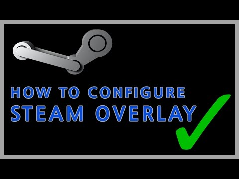 How to configure the steam overlay when steam doesn't work