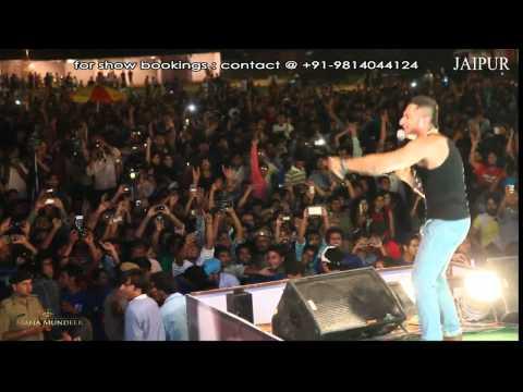 Yo Yo Honey Singh & Mafia Mundeer @ JAIPUR