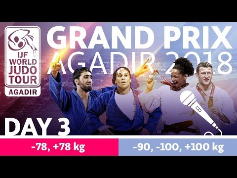 Judo Grand-Prix Agadir 2018: Day 3