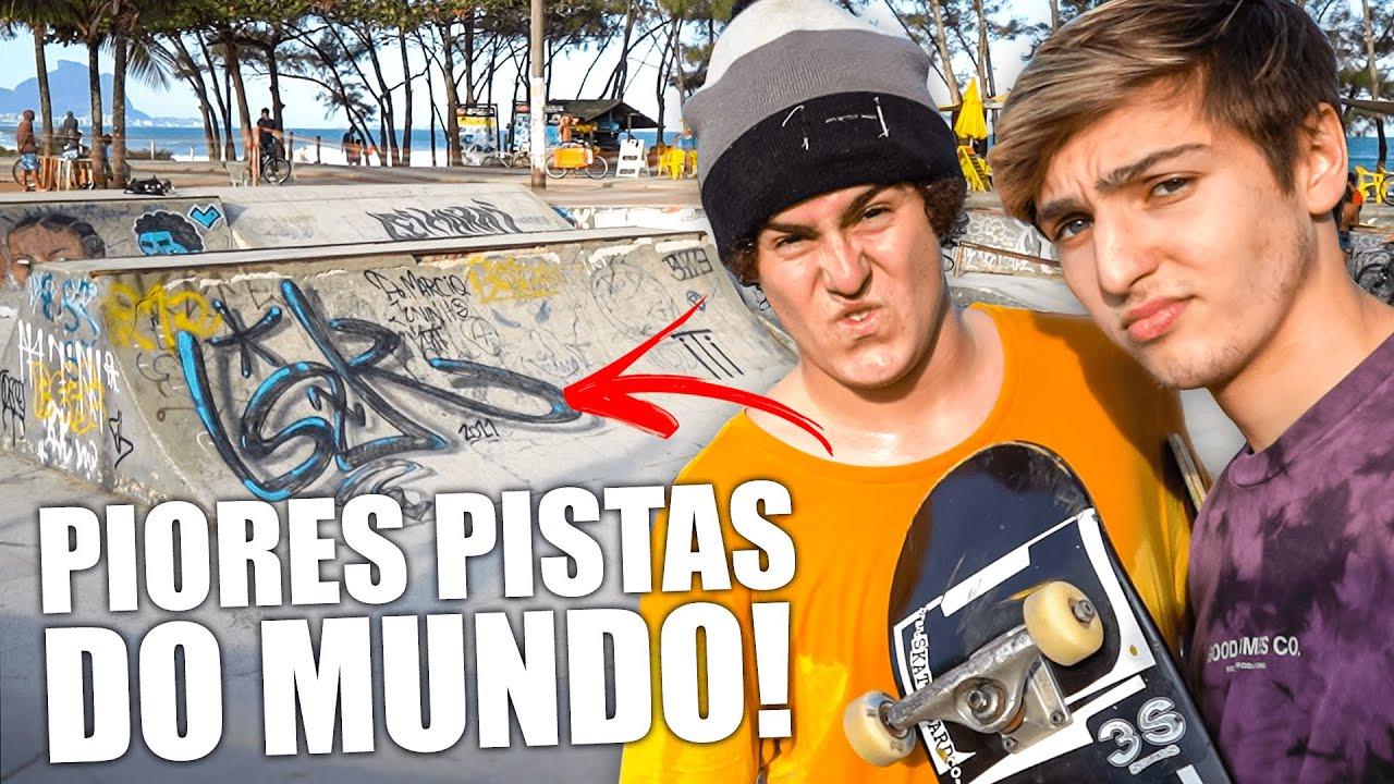 Download 2 PIORES PISTAS DE SKATE DO MUNDO! (no mesmo dia)