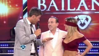 Showmatch 2014 - Una sofisticada bachata de Pachano con Laura Fernández
