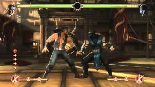 Mortal Kombat 9 - Nightwolf обучение + комбо
