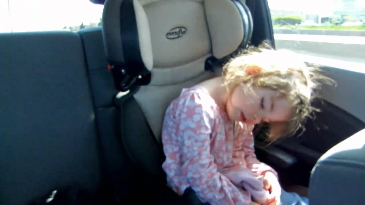 Two Funny Heavy Headed Girls Falling Asleep In Car Youtube
