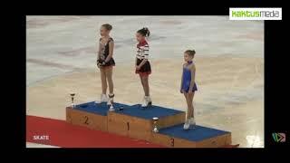 Девятилетняя Элес Намазалиева стала чемпионкой Австрии по фигурному катанию