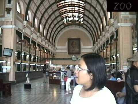 Bưu điện Trung tâm Thành phố Hồ Chí Minh ~ 9A3 ~ HBS ~ 2013-2014