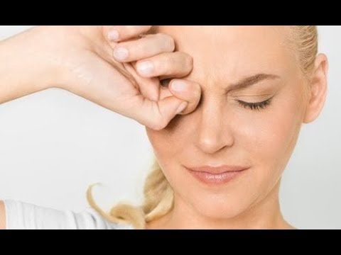 Опухло веко над глазом и болит