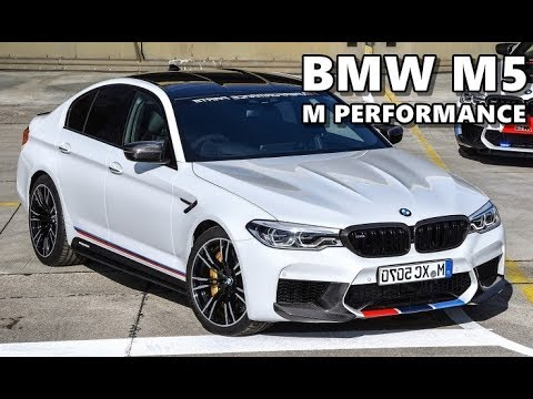 bmw m5 m performance parts (2018) preview youtube