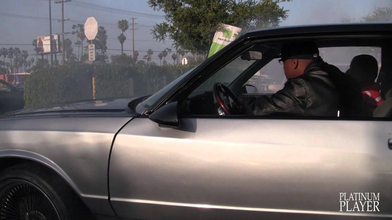 MONTE CARLO on 22 INCH BLACK SPOKES- LOS ANGELES - YouTube