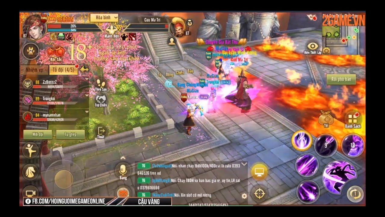 Tân Thiên Long Mobile VNG khiến người chơi cày hoạt động PvE, PvP cả ngày cũng không hết