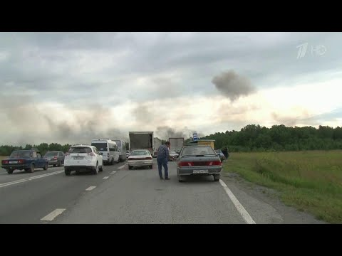 На территории Ачинского района Красноярского края введен режим ЧС.