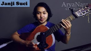 Chord Gampang (Janji Suci - Yovie & Nuno) by Arya Nara (Tutorial)