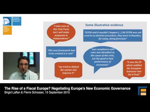 The Rise Of Fiscal Europe? Negotiating Europe's New Economic Governance