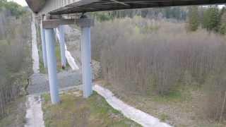 Троян. Прыжок с моста...
