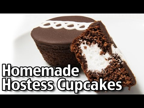 Homemade Hostess Cupcakes!