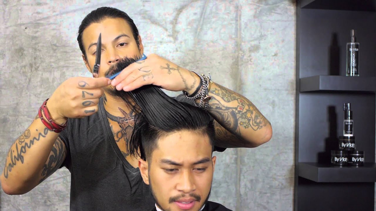 Summer Hipster Hairstyle Featuring By Vilain Dynamite Clay - Hairstyle mens summer 2015