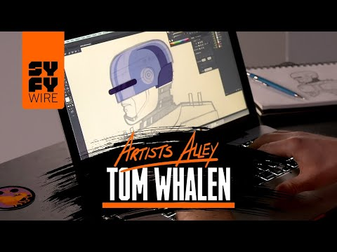 Artists Alley: Tom Whalen brings RoboCop come to life in a brand new way