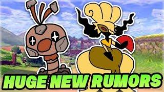 NEW HUGE RUMOR for Pokemon Sword and Pokemon Shield!? Few Pokemon But Cool Legendary Pokemon!?