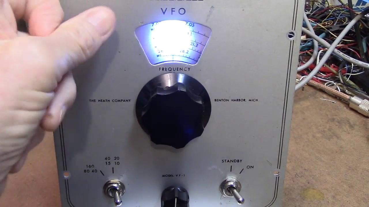 Heathkit VF-1 Trimmer add