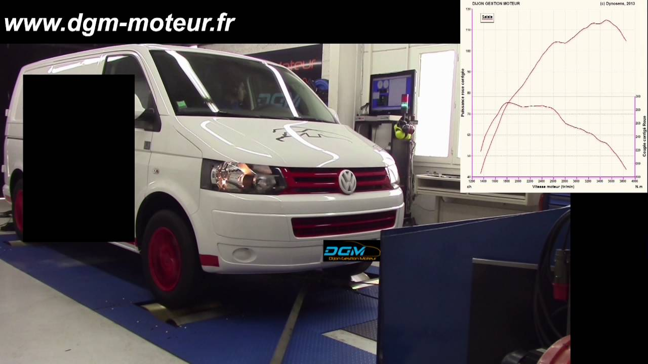 reprogrammation dgm volkswagen transporter t5 2 0l tdi 140ch 2016 evo1 youtube. Black Bedroom Furniture Sets. Home Design Ideas