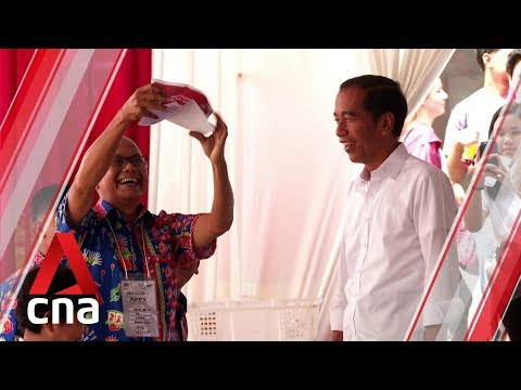 Indonesia elections 2019: President Joko Widodo optimistic about outcome