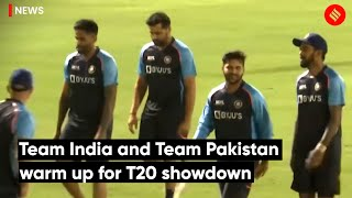 Team India and Team Pakistan warm up for T20 showdown | Ind Vs Pak T20 WC