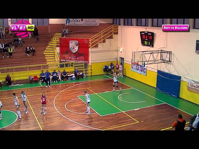 Fortitudo Rieti vs Idea Bologna - 2° Set