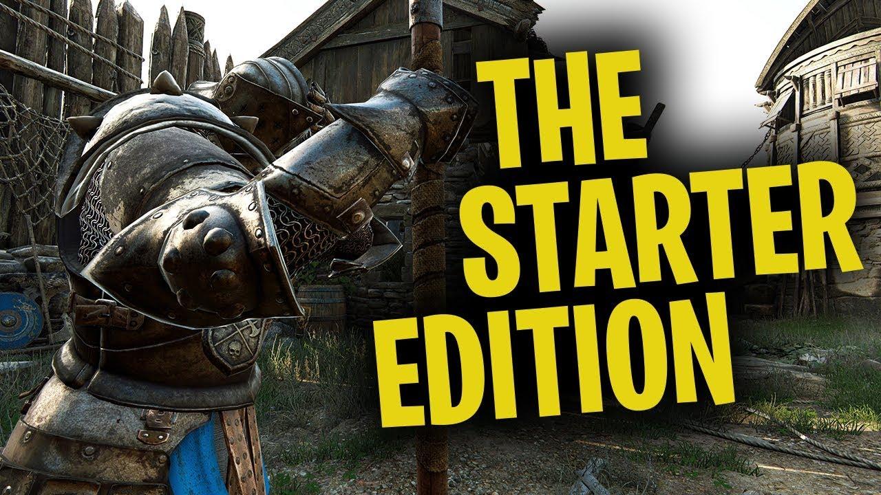 for honor starter edition vs standard